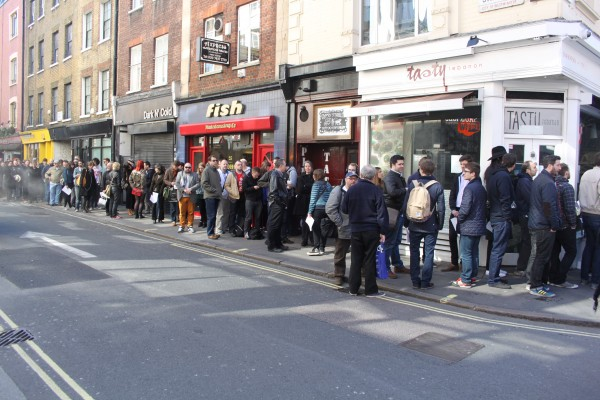Record Store Day Queue