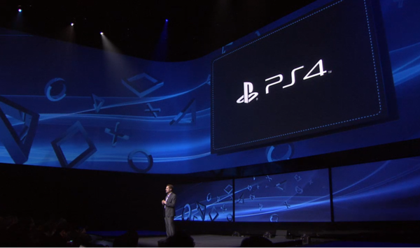 PlayStation 4 game console launch