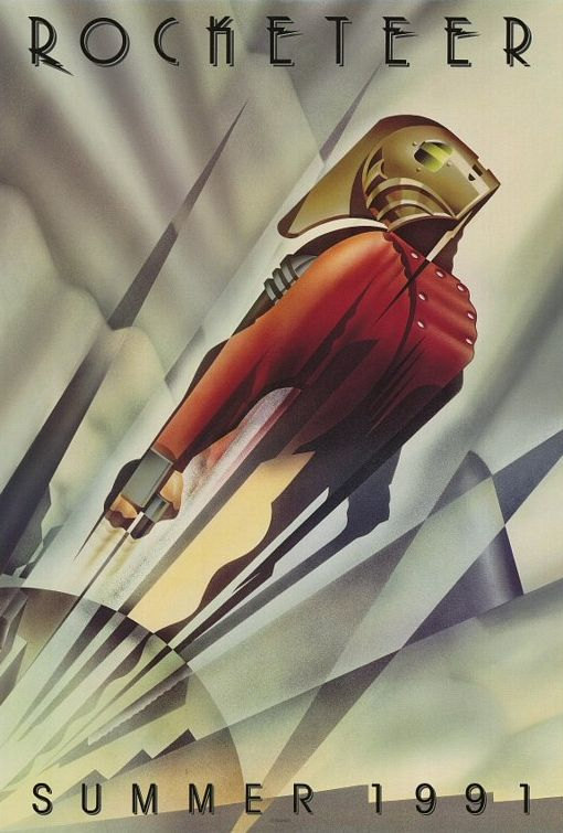 The Rocketeer teaser poster