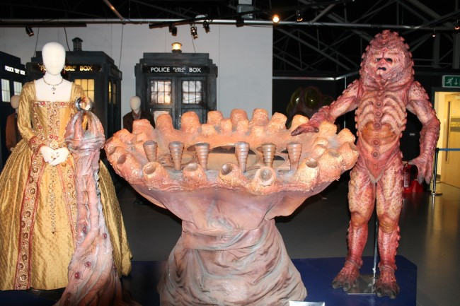 """Costumes and props from """"The Day of the Doctor."""""""