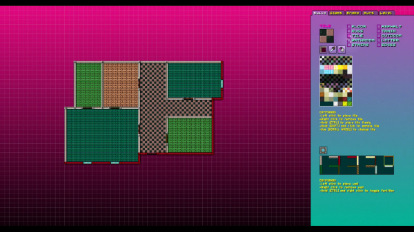 Hotline Miami 2 - Level Editor 1