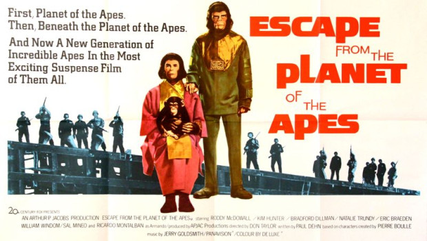 Escape from the Planet of the Apes Quad