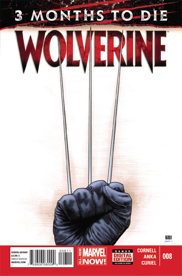 wolverine 8 cover