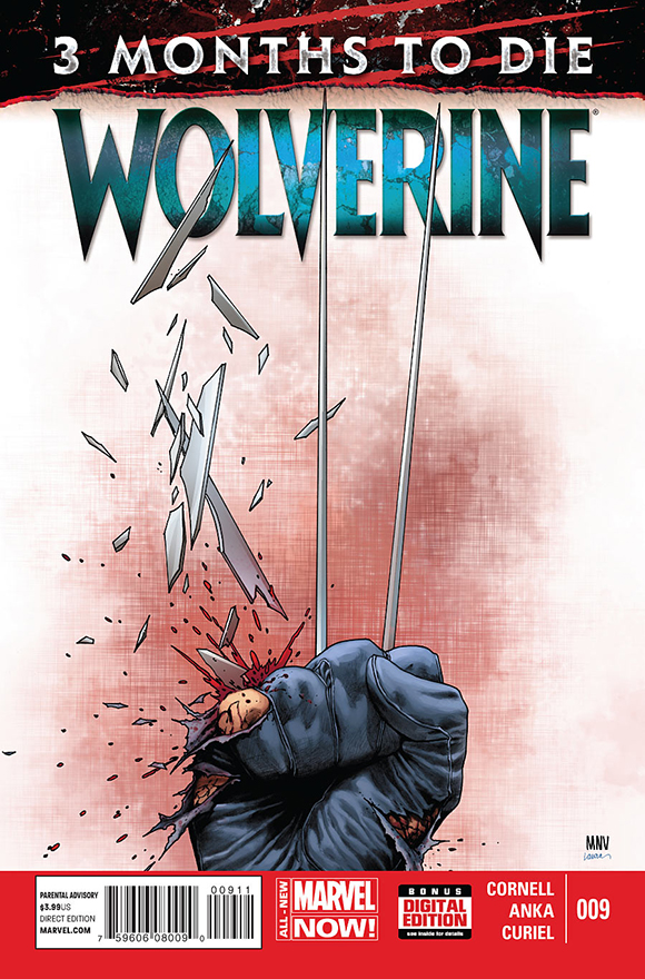 Wolverine #9 cover