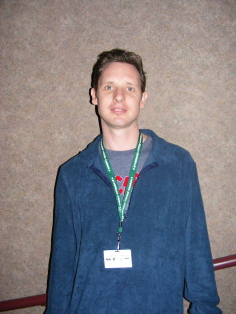 "Documentary director Mark Hartley, at a daytime screening of ""Not Quite Hollywood"" (Midnight Madness 2008)"