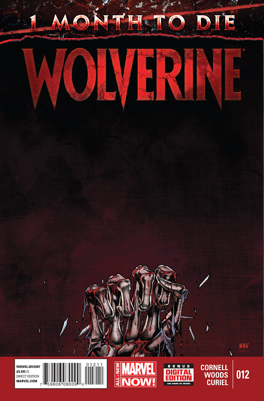 Wolverine #12 cover