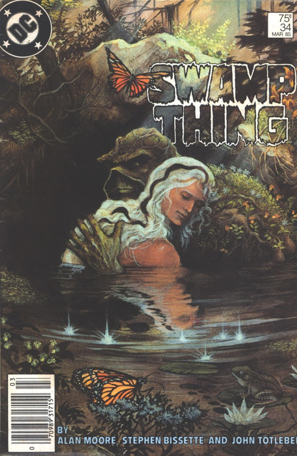 swamp thing painted