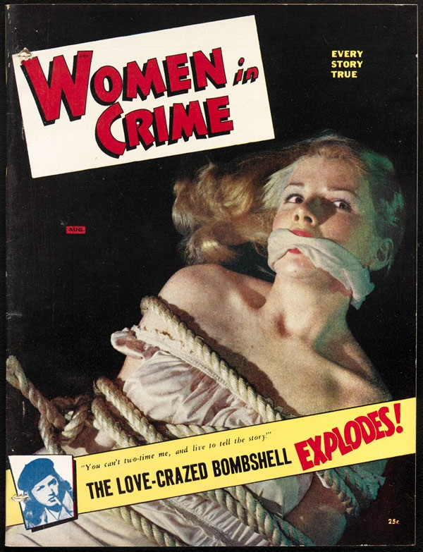 Women in Crime bondage cover