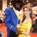 Northern Belle Cosplay and Cajun Cosplay as Belle and the Beast