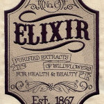 1. Embroidered Elixir Patch £15.00