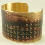 4. Period Table of Elements Cuff £26.01
