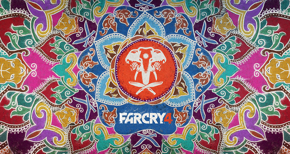 Far Cry 4 Elephant Pattern