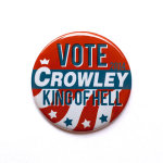 8. Supernatural Button - Vote Crowley King of Hell Button £1.47