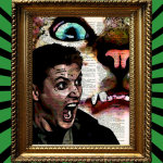 11. Dean Winchester is a Scaredy Cat Supernatural Awesome Upcycled Vintage Dictionary Page Book Art Print £5.86