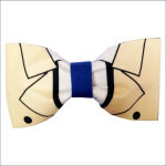 7. Castiel Inspired Supernatural Angel Hair Bow or Bow Tie Geeky Fabric Bow £7.86