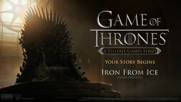 Telltale Game of Thrones Iron from Ice