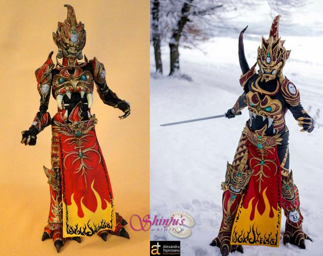 Mandarin Spawn cosplayer