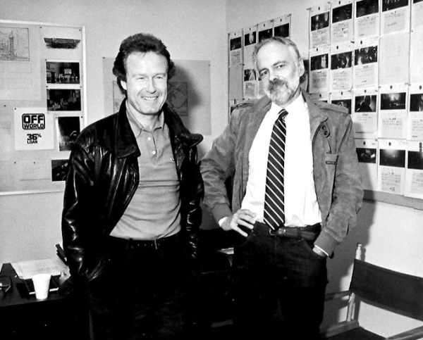 Philip K. Dick with Ridley Scott