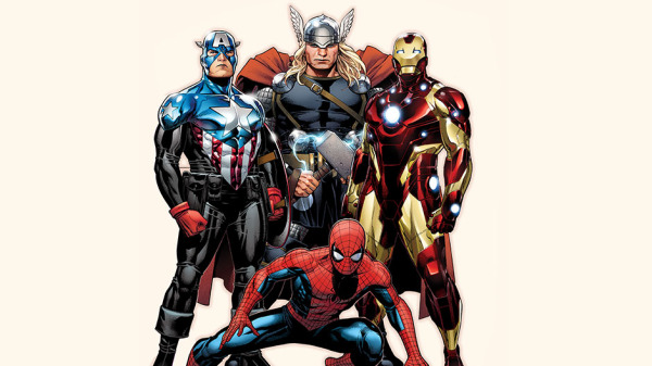 Avengers with Spiderman