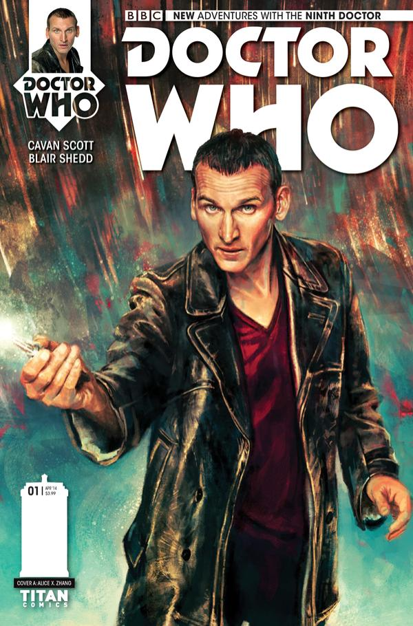 9th Doctor cover