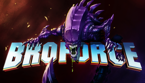 Broforce Alien Infestation Title