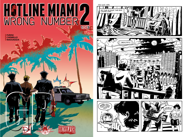 hotline miami 2 wrong number digital comic