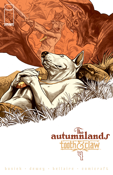 The Autumnlands #4 cover