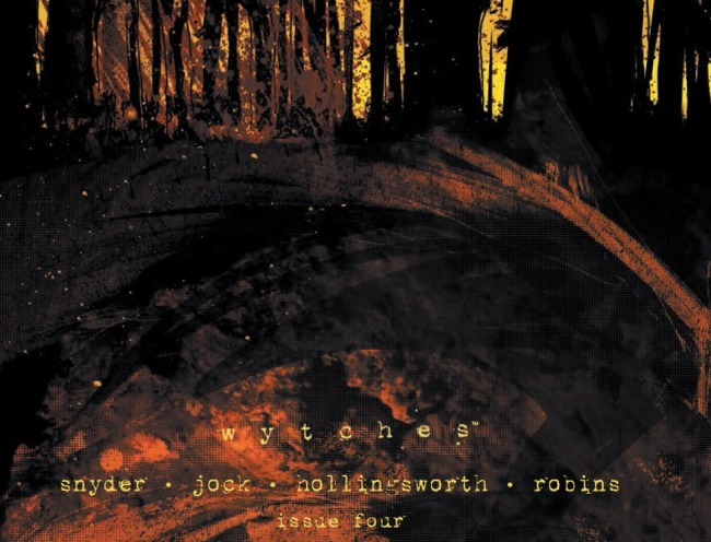 Wytches #4 Cover