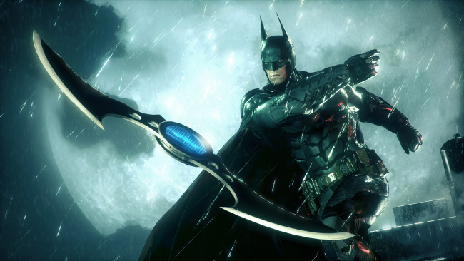 batman: arkham knight trailer batarang