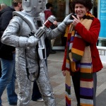 Cyberman and Doctor Who cosplay