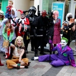 A Gaggle of Cosplayers