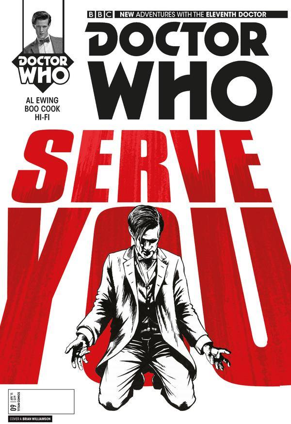11th doctor #9 cover