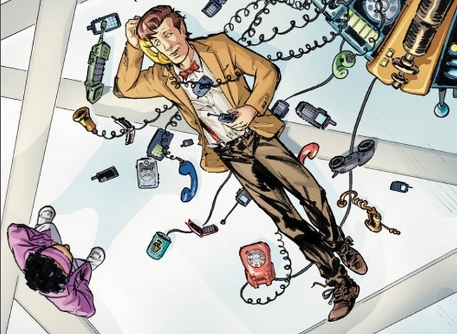 11th doctor #9 feature