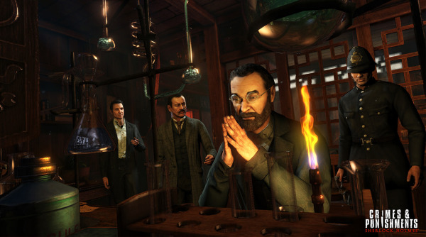 Sherlock Holmes Crimes and Punishments Playstation Plus