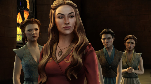 Game of Thrones episode 3 sword in the darkness cersei lannister mira Margaery tyrell