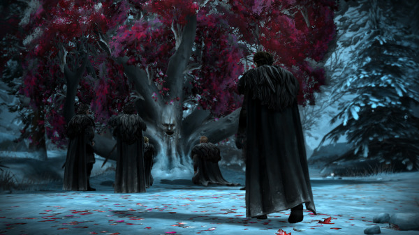 Game of Thrones episode 3 sword in the darkness tree forrester north wood