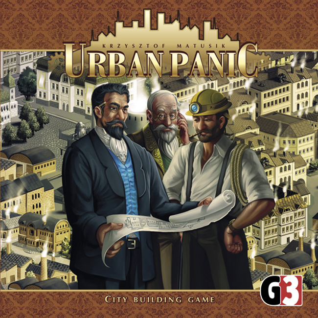Urban Panic board game box cover