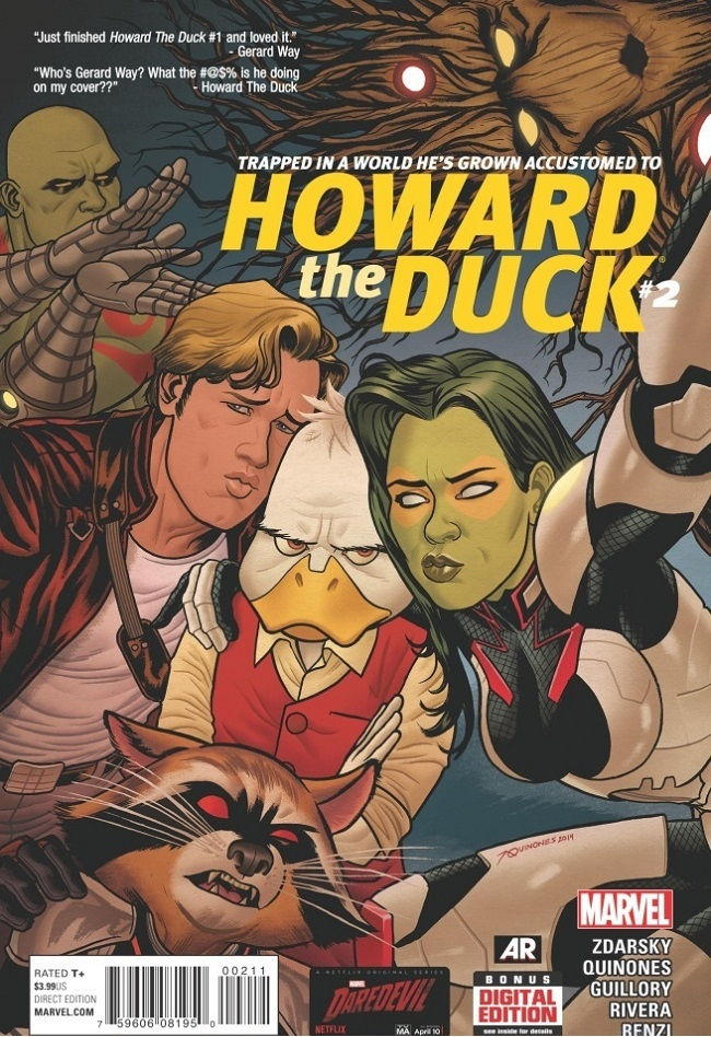 howard duck cover 2