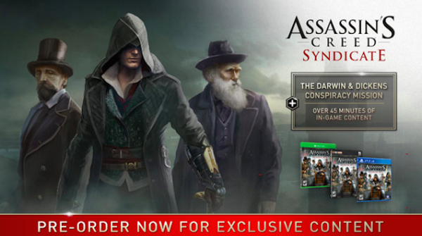 Assassin's Creed Syndicate Darwin Dickens Charles