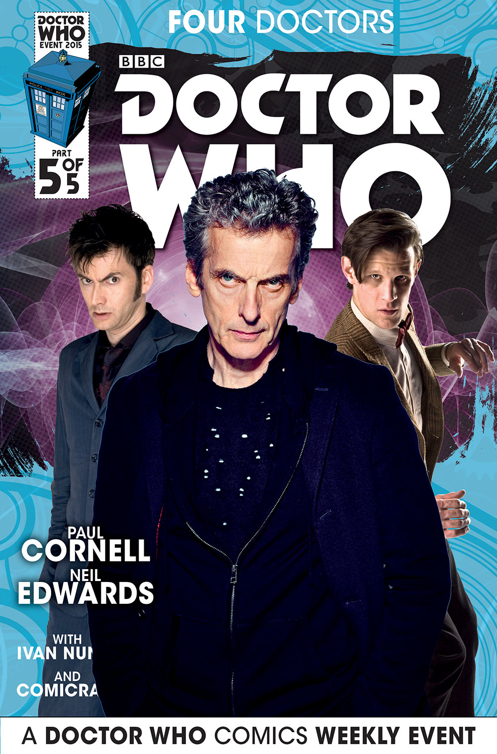 Doctor Who Issue 5 Cover B