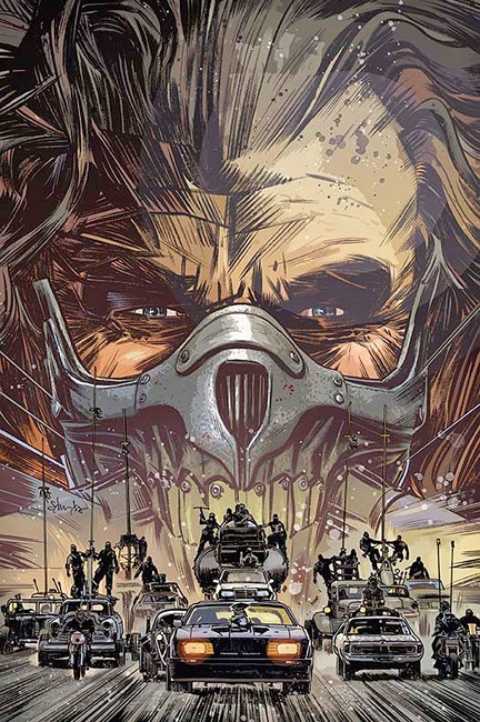 MM fury road comic cover