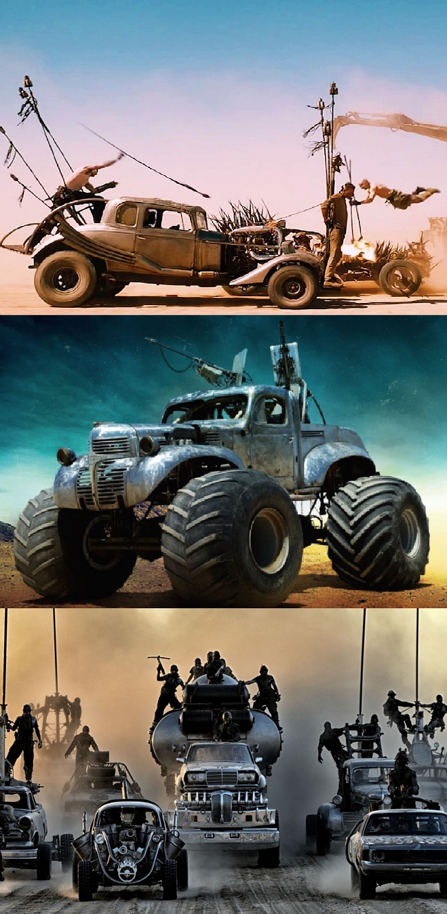 Mad MAx Vehicle Mix