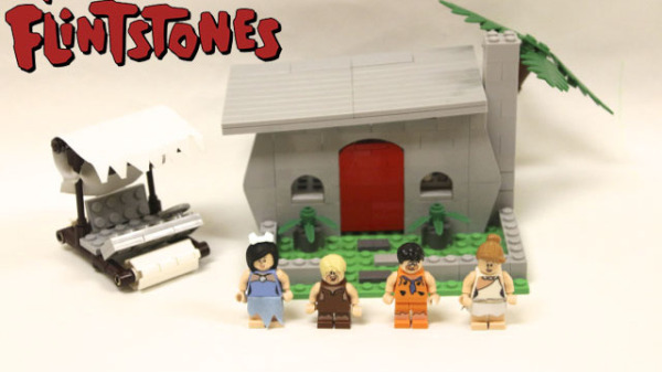 The flintstones lego