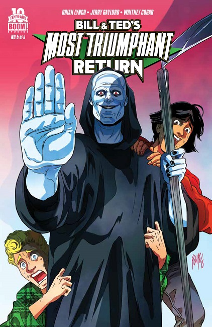 Bill Ted MostTriumphantReturn 5 cover