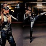 Fairy Porch Queen as Selina Kyle/Catwoman from The Dark Knight Rises. Taken by Sonesh Joshi Photography.