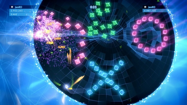 Geometry Wars 3 dimensions playstation plus