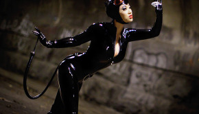Yaya Han Cosplay as Adam Hughes' Catwoman.