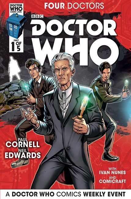 Four Doctors 1 cover