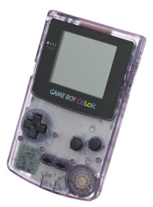 purple game boy color