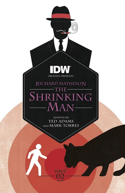 Shrinking Man 02 cover